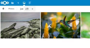 Nextcloud Docker浏览图片