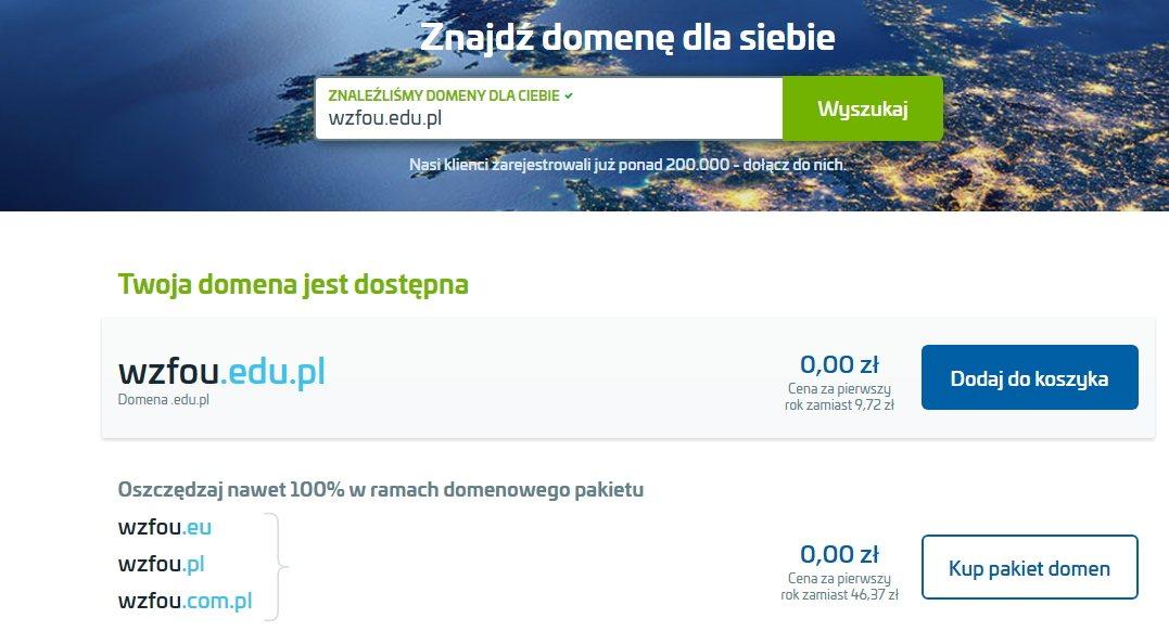 AZ.PL域名搜索注册