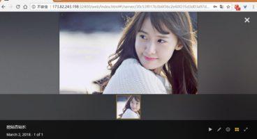 Plex浏览图片