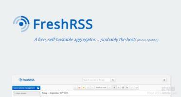 开源免费RSS订阅工具FreshRSS安装与使用-自建RSS在线订阅平台