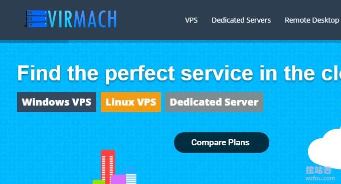 Virmach低价VPS主机性能与速度评测-1美元/月美国KVM和OpenVZ VPS主机