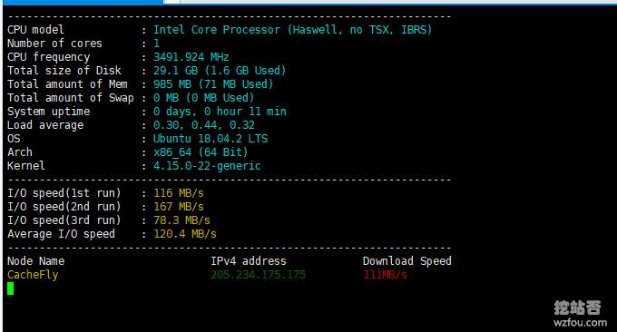 Hostwinds VPS磁盘IO