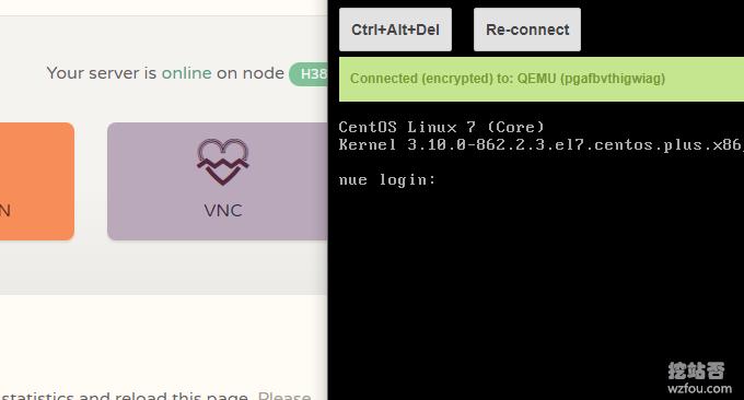 CloudCone美国CN2 VPS在线VNC