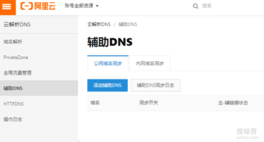 ClouDNS阿里云DNS
