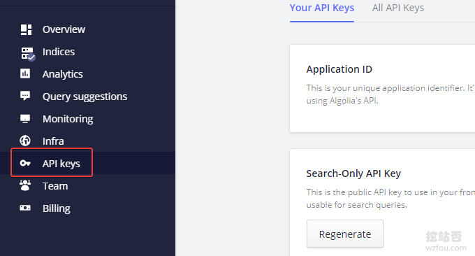 Algolia记下API