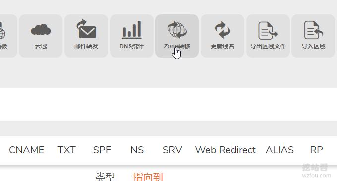 ClouDNS从属DNS