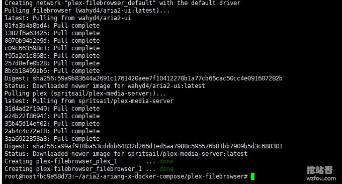 Aria2整合Plex安装成功