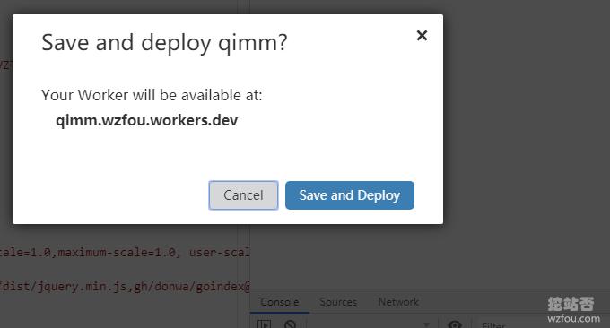 cloudflare wokers确认部署代码