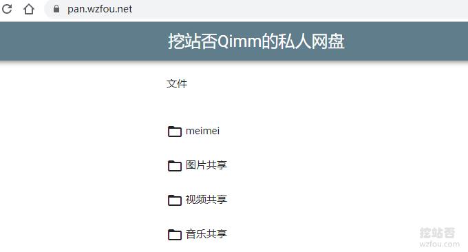 GoIndex绑定域名效果