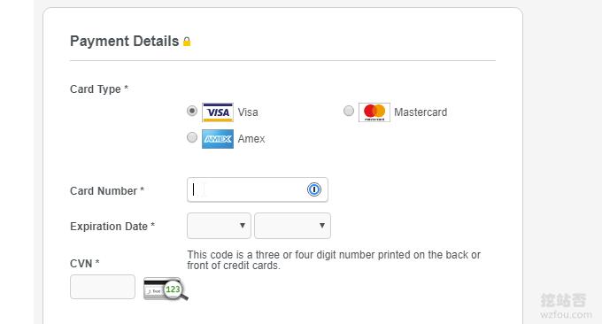 Oracle Cloud甲骨文双币种信用卡