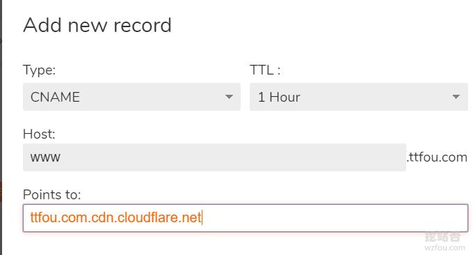 CloudFlare免费CDN使用IPv4接入