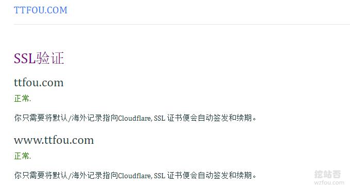 CloudFlare免费CDN证书生成成功