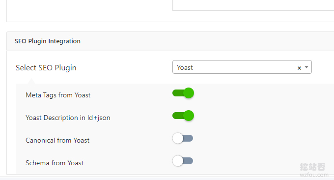 AMP for WP SEO优化