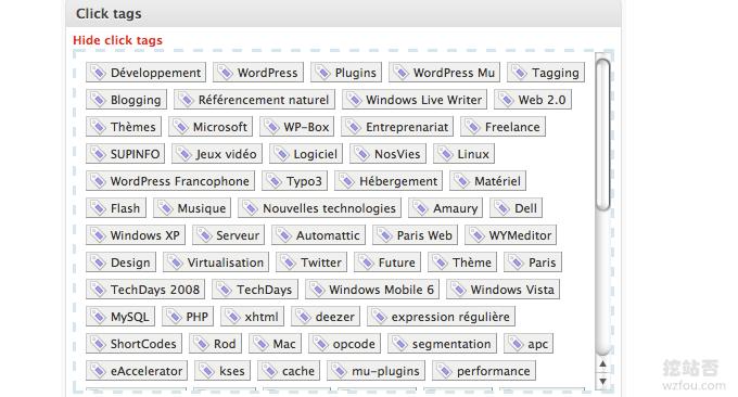 Wordpress自动采集和发布自动添加标签