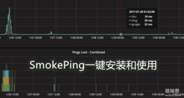 VPS主机和服务器网络线路监控平台-SmokePing Nginx一键安装使用