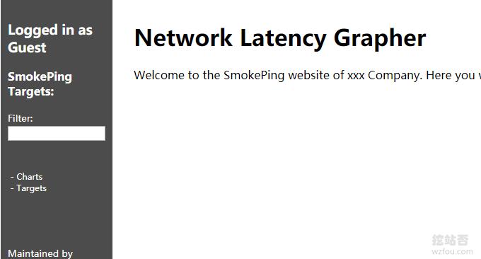 SmokePing看到效果