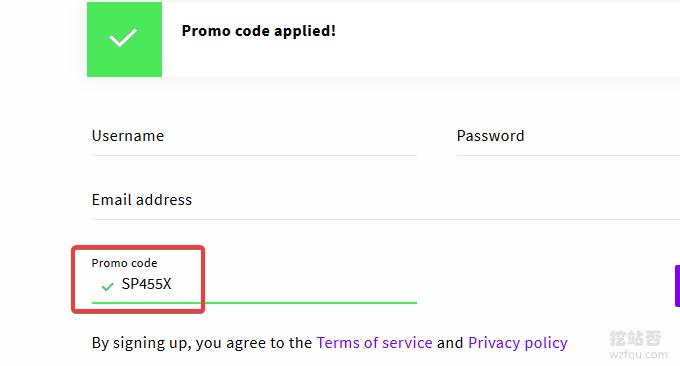 UpCloud手动输入优惠码