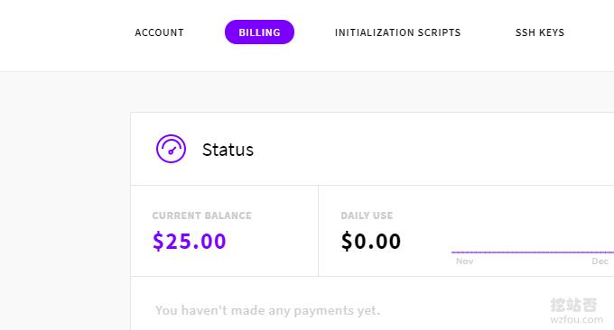 UpCloud获取25美元奖励