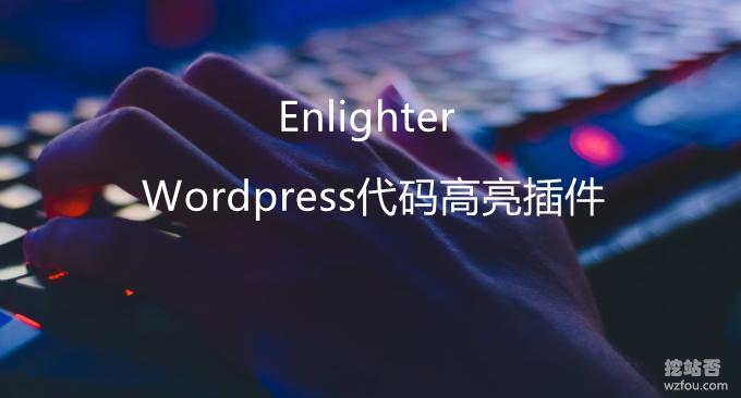 Wordpress全能型和超强兼容性代码高亮插件Enlighter-WP代码必备插件