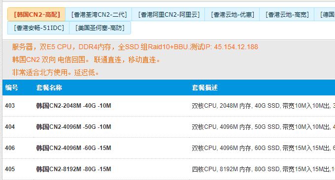 Aoyohost遨游主机韩国CN2 VPS购买