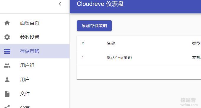 Cloudreve自建网盘系统对接外部网盘