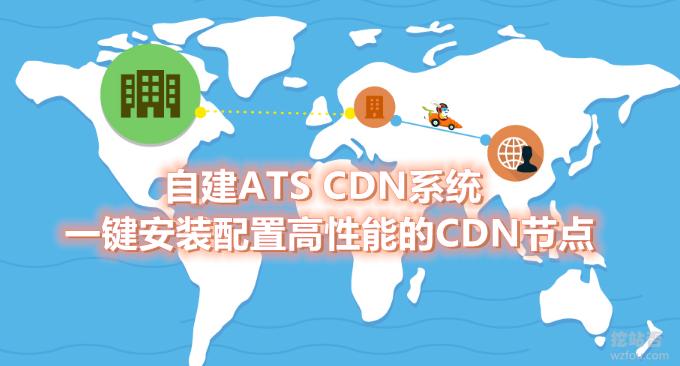 自建ATS CDN系统-利用Apache Traffic Server一键安装配置高性能的CDN节点