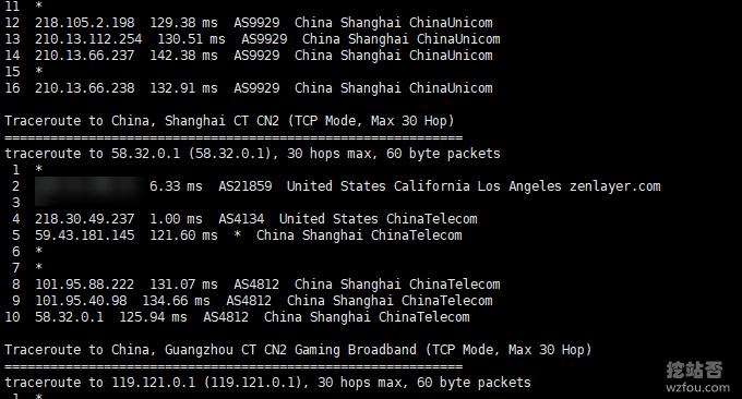 QYFOU美国CN2 GIA VPS电信回程线路