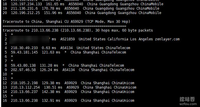 QYFOU美国CN2 GIA VPS联通回程线路