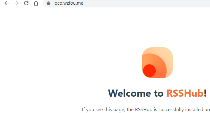 RSSHub成功订阅