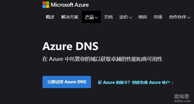 微软Azure DNS域名解析服务使用-GeoDNS分区解析Anycast速度快