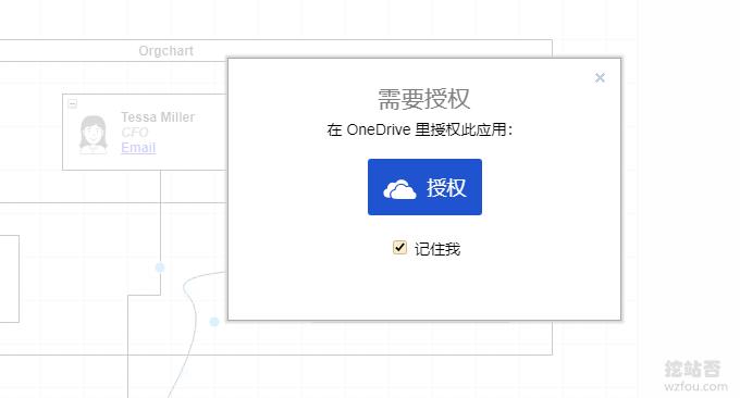 draw.io在线思维导图点击授权