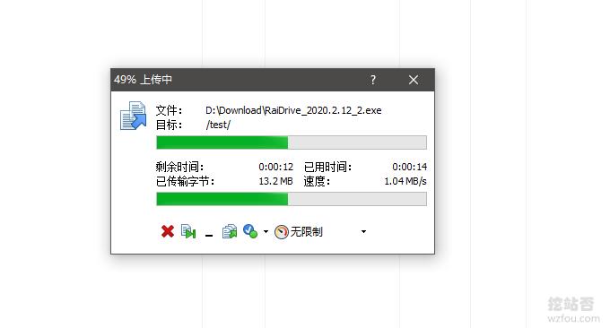OLink Cloud独立服务器上传速度