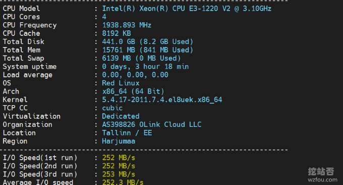 OLink Cloud性能测试