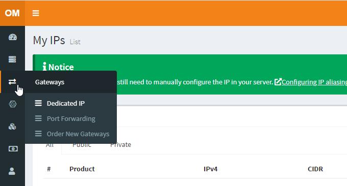 oran.me VPS绑定IP