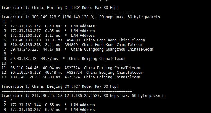 Ucloud优刻得香港VPS电信回程