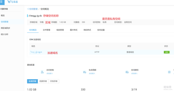 ZFile自建免费公共网盘服务七牛云