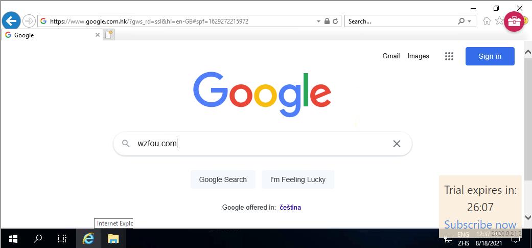AppOnFly免费试用VPS浏览网页