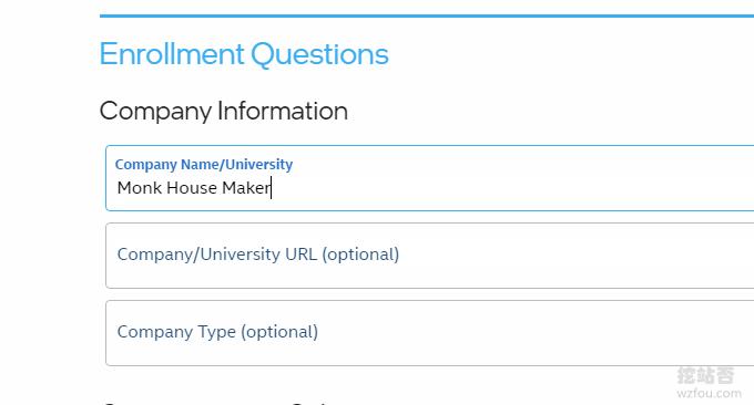 英特尔Intel DevCloud免费云服务器填写名称